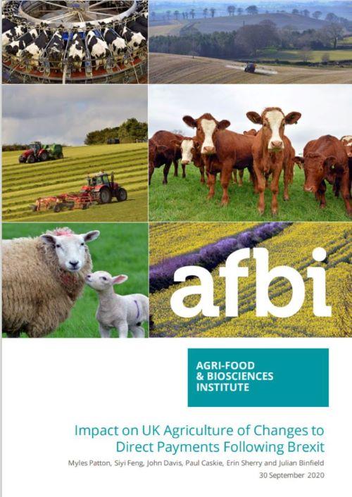 FAPRI-UK report, Agriculture, Economic impact