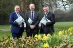 Pictured at the conference, from left are Colm McKenna, Chair of AFBI board, Dr Sinclair Mayne Chief Executive AFBI, Tim Bennett Chairman CIEL.