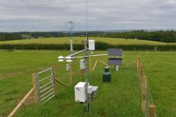 The COSMOS-UK installation at the AFBI farm in Hillsborough