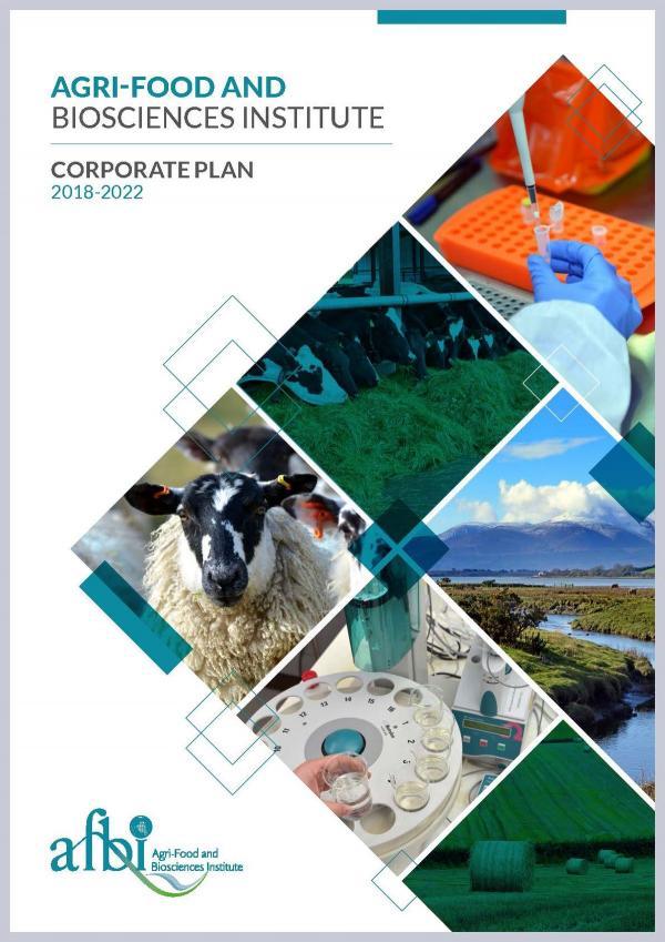 AFBI Corporate Plan 2018-2022
