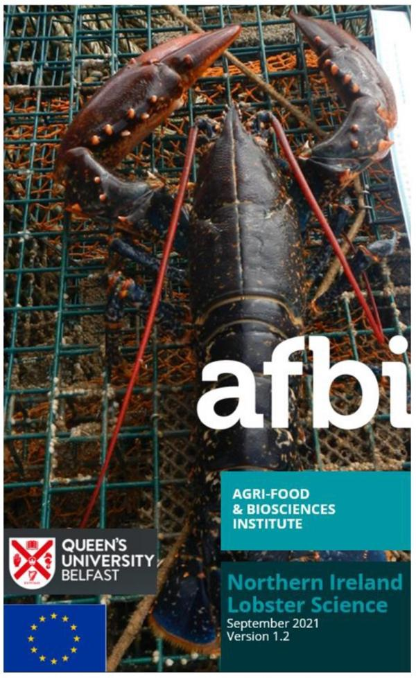 Lobster Science 2017-2020 report cover