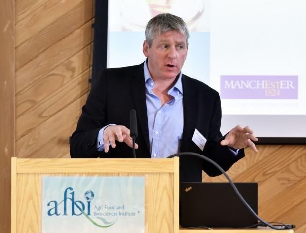 Chris Johnston from AFBI