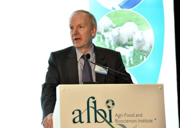 AFBI CEO Dr Sinclair Mayne