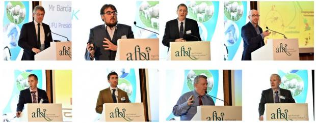Speakers at the AFBI Conference