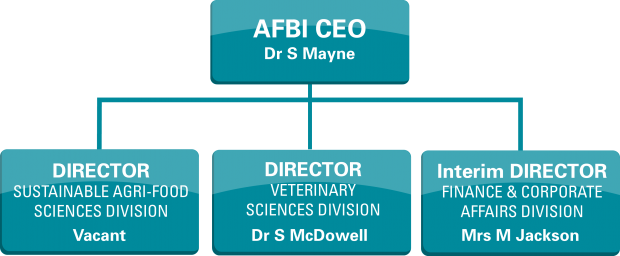 AFBI's Executive Management Team Structure