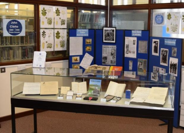 The exhibition can be viewed at the Library, AFBI Newforge, 18a Newforge Lane, Belfast, BT9 5PX