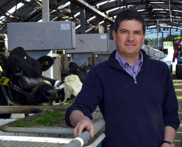 Conrad Ferris (AFBI dairy scientist) who will present his winter feeding research findings at the 'Dairy Innovation in Practice' Roadshow
