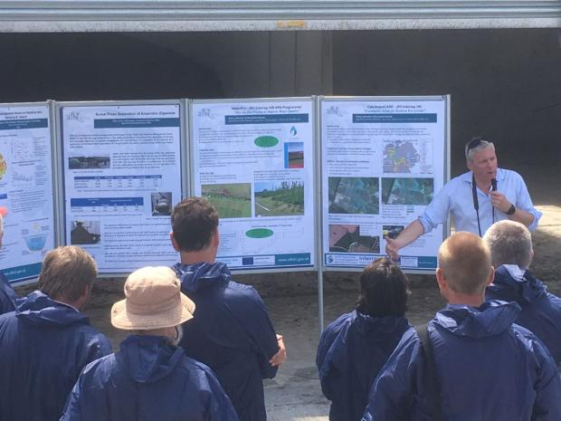 Chris Johnston explains the nutrient control issues on local farmland and the research that AFBI is doing to find novel but practical solutions.