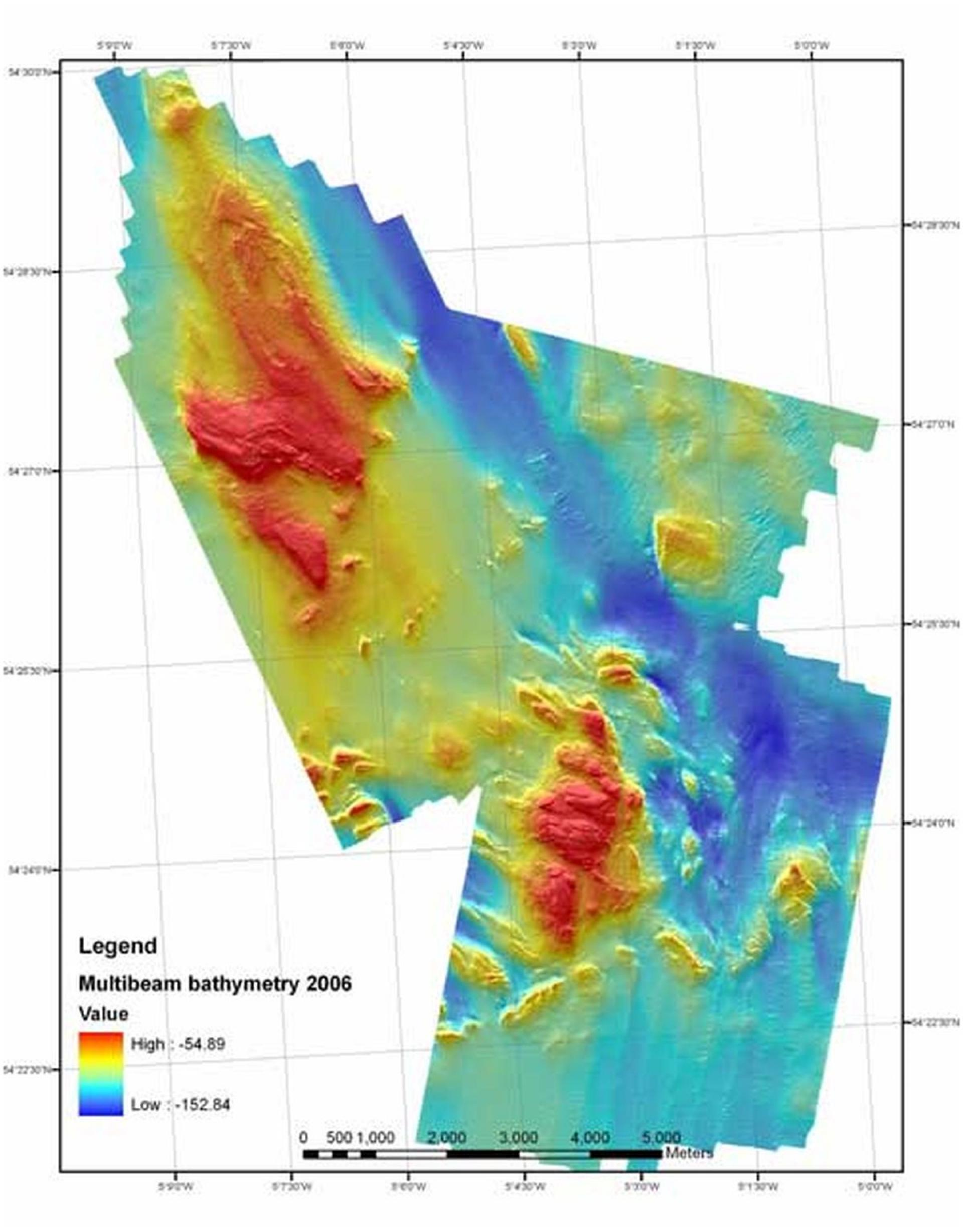 Seabed habitat mapping | Agri-Food and Biosciences Insute on