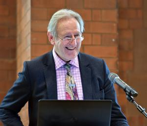 Lord Donald Curry, keynote speaker at the recent George Scott Robertson Memorial Lecture