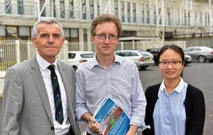 Authors, Prof John Davis, Dr Myles Patton and Dr Siyi Feng