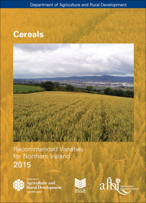 The new AFBI/DARD Cereal Recommended List for 2015 can be viewed on the AFBI website at www.afbini.gov.uk.