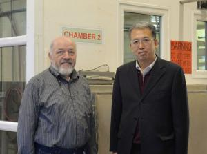 David Wills and Professor Diao,
