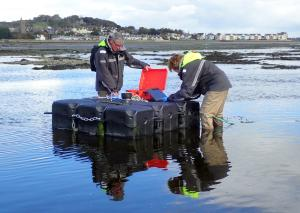 FAEB Scientists deploy new instrumented buoy in Inner Dundrum Bay