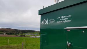 The Air Quality Monitoring Station at AFBI Hillsborough