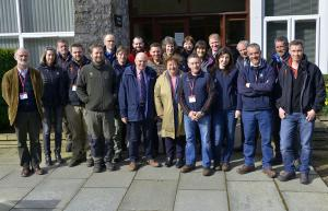 Members of the National Trust pictured during their recent visit to AFBI Loughgall