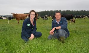 Drs Conrad Ferris and Debbie McConnell, AFBI's leading dairy scientists, will present their research on grassland utilization and feed efficiency at the September farm events.