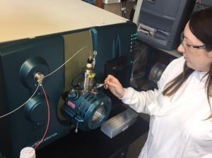 The latest liquid chromatography mass spectrometry based technology is employed at AFBI
