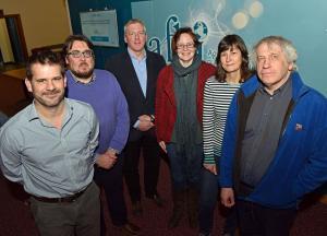 AFBI Research Scientists incuding Dr Adam Mellor, Dr Donnacha Doody, Mr Chris Johnston, Dr Diane Burgess, Mel Flexen and Dr Matt Service