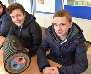 Joel Marks and Harry Patterson (Portadown College)