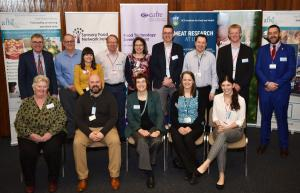 Some of the speakers at the All-Ireland Meat Science Conference held at AFBI last week