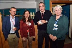 Dirk Theobald, (Community Plant Variety Office), Elena Prats (Spanish National Research Council), Preben Klarskov Hansen (Tystoftefonden) and Lisa Black (AFBI, Crossnacreevy).
